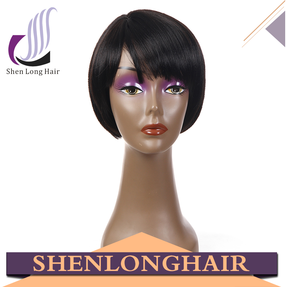New Arrival Natural Short Synthetic cheap Wigs Good Quality short hair wigs for black women, High Quality Synthetic Wigs