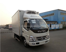 China good quality reefer truck trailer frigeration system for truck fiberglass insulated BOX