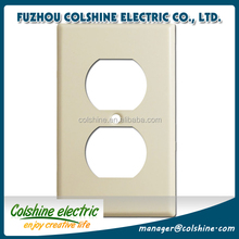 Colshine CE certified American standard wall plate, electrical outlet cover
