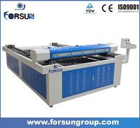 High speed leather laser engraving and cutting machines/laser cutting computerized embroidery machine