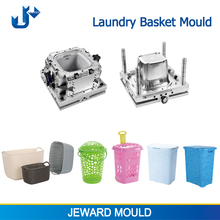 Plastic mold maker making laundry basket moulds in zhejiang huangyan china