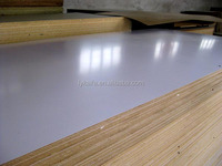 12mm waterproof wood fiber melamine mdf board
