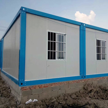Modern Cheap Light Steel Structure Prefab Temporary Office/Live Room Container House