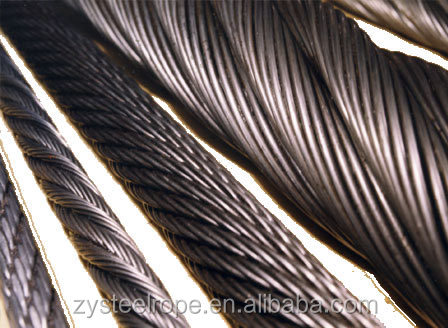 16.5mm steel rod price galvanized ungalvanized 16.5mm steel wire rope