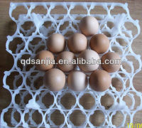 Hatching shape various holes egg protect egg tray plastic egg carton for sale