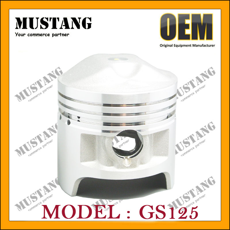 Motorbike Engine Parts for Suzuki Piston GS125cc