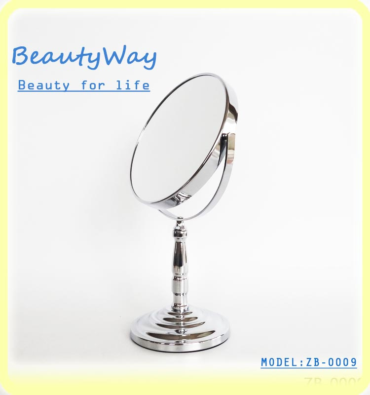 New style two way cosmetic dressing table mirror free standing mirror China Wholesale Cheap Price High Quality Supplier