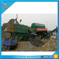 Energy Reusing Daily Waste garbage sorting machine_Solid rubbish recycling plant for Environment