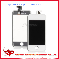 Original LCD Touch Screen Digitizer For Iphone 4S Motherboard