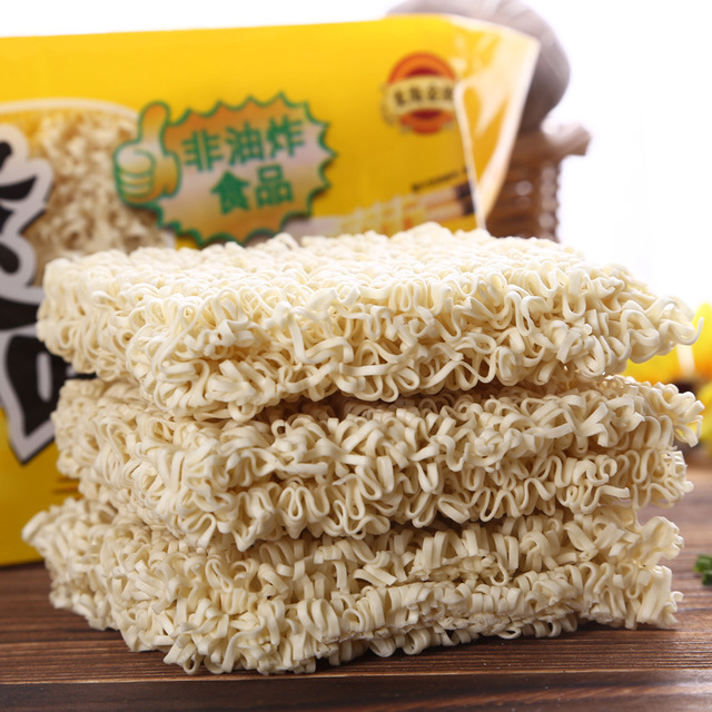 Healthy dried instant egg noodles