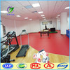 Red color Professional PVC Table Tennis Sports Flooring supplier