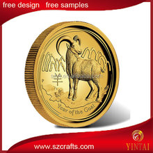 Coin year of monkey,horse,sheep,pig 12 zodiac coin sale
