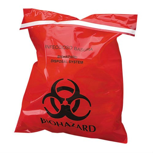 Hot Selling Yellow Medical Clinical Biohazard Waste Bag