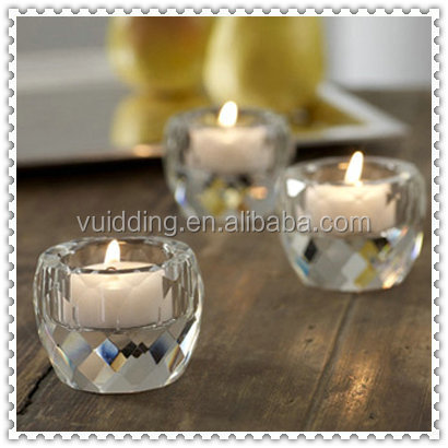 Wholesale Church Crystal Votive Candle Holder For Decoration