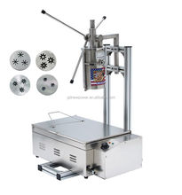 High efficiency churros machine and fryer, churro making machine