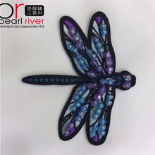 Hot selling embroidery patch material for wholesales