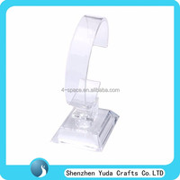 Clear Plastic Watch/jewelry Display Holder Rack Stand
