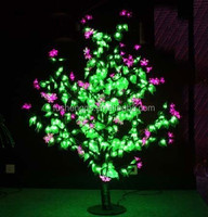 Led solar Christmas holiday decoration fairy string indoor and outdoor light / christmas led flower tree light blossom lights