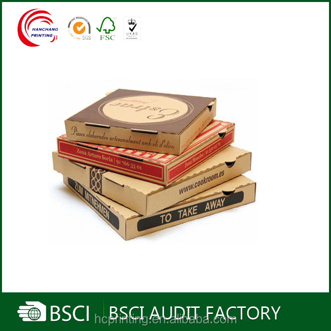Personalized Custom pizza boxes italy