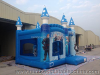 inflatable hot sale cheap bouncy castle frozen bouncer