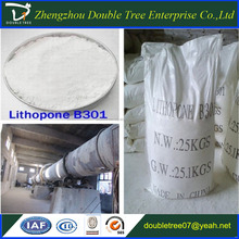 High quality white powder pigment lithopone B301 28% for coating