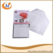 wax packaging paper for wrapping fruit waxed waterproof greaseproof waxed fresh meat wrapping paper