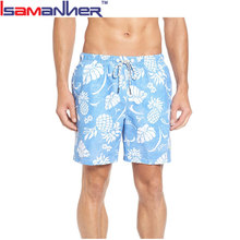 Hot selling custom made plus size printing mens swimwear from china