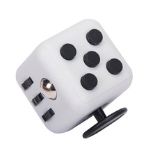 2017 Best Christmas gift of magic 6 sides fidget cube anti stress release cube desk toy for kids and adults.