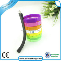 colorful wrist usb flash drive with 8gb