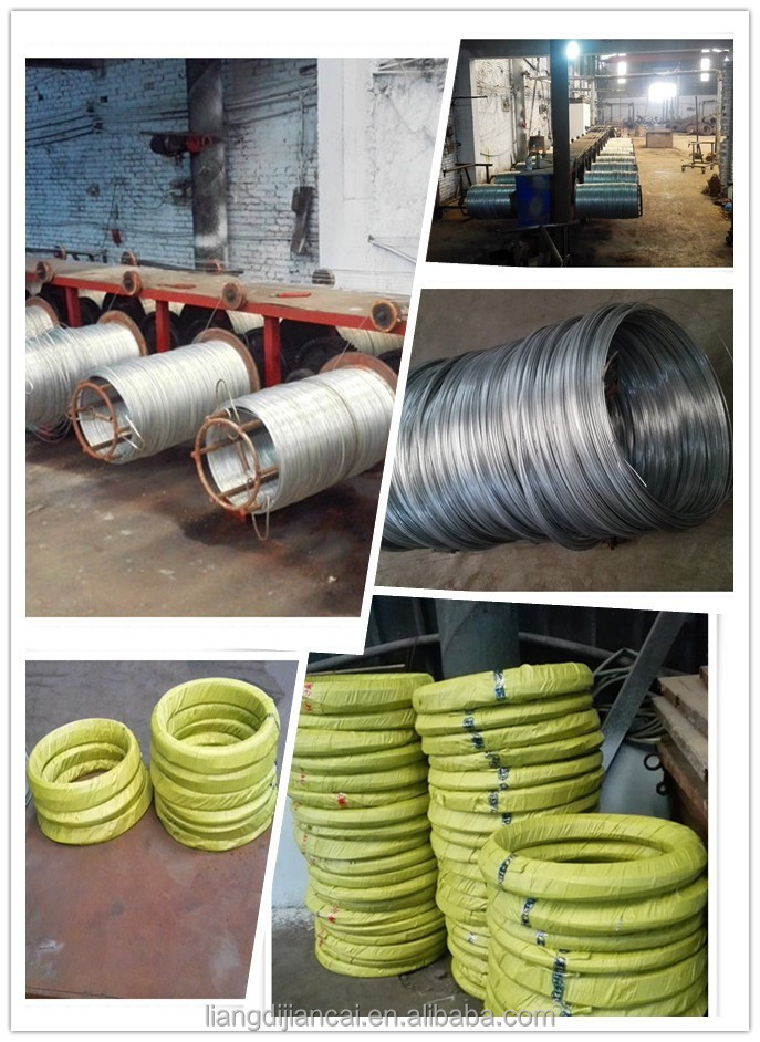 Q195 Cold drawn High tensile low carbon galvanized iron wire
