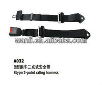 Universal 2 Point Racing Harness Seat Belt