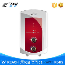 Tankless small bathroom water heater square water heater