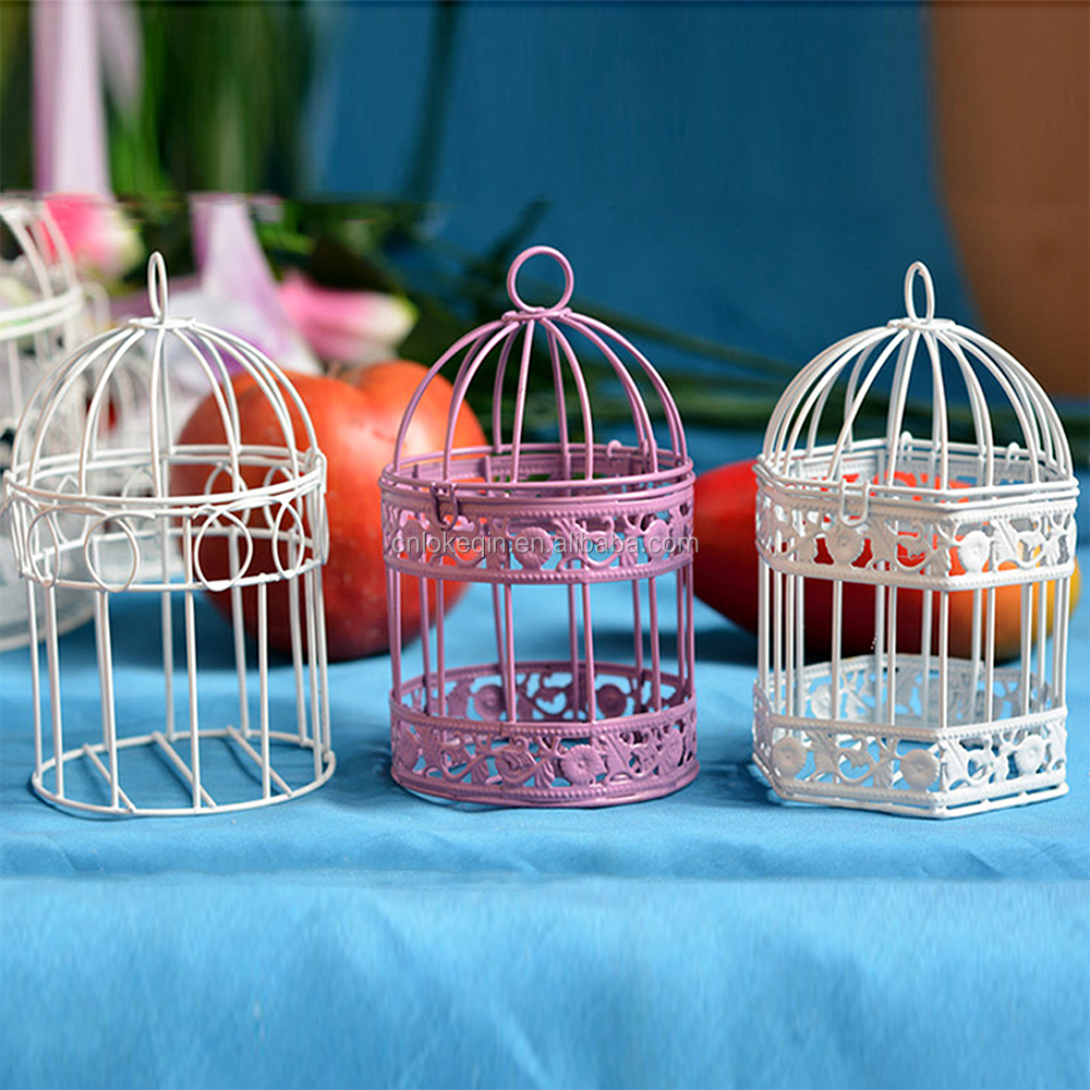 Handmade bird cages Small sizes Iron Home Decoration CagesPet's Cages Decorative Bird Cages Cheap
