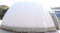 2016 geodesic dome cover,inflatable disco dome,inflatable dome