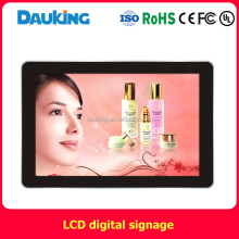 55inch wall mounted protrait and landscape modes x86 windows version LCD advertising display