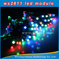 LED pixel light string 9mm/waterproof low decay