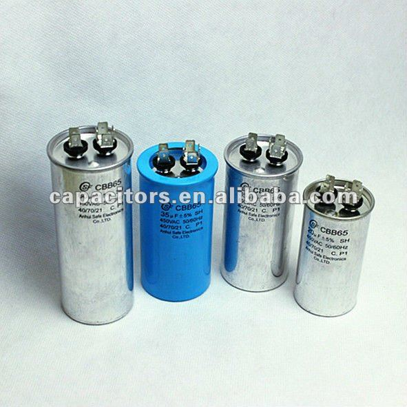 Tubular Wrap and Fill capacitor 85uF 220VAC