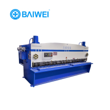 qc12y-6x3200 hydraulic used sheet metal shearing machine