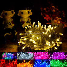 Direct factory LED String Lights christmas Fairy Flash colorful Xmas Holiday light outdoor for party wedding
