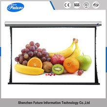 100 inch 16:9 rear fabric luxury tab-tensioned projection screen for global customers