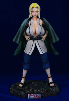 Hot Selling Sexy Nude Japanese Naruto Anime Figure Statue