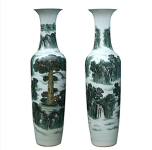 Tall Chinese Antique Large Ceramic Floor Vases Jingdezhen factory