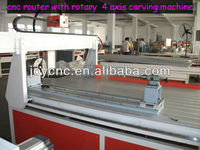 Wuhan factory supply Spindle power 4.5kw digital cnc router wood carving machine for sale
