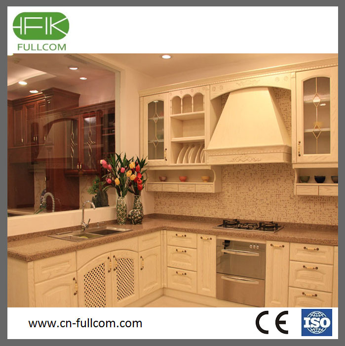Mdf Wood Kitchen Cabinets: Solid Wood Kitchen Cabinet