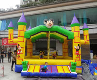 mickey cartoon character used jumping castles for sale