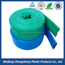 anti -UV PVC Layflat water hose pvc lay flat irrigation water UV resistent hose