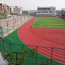 SGS certified sandwich type rubber running track