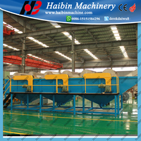 PP PE Plastic Film Crushing Washing Recycling Production Line