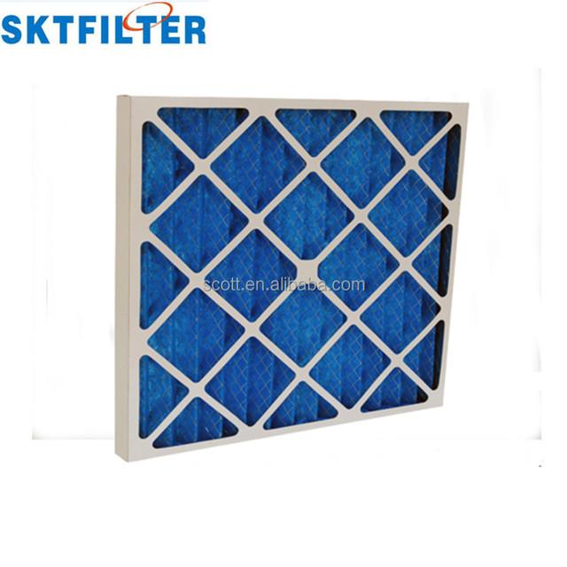 Paper/aluminum frame G4 Coarse air filter pre filter