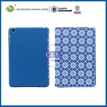 C&T Slim bule stylish wallet smart three fold leather case for ipad mini
